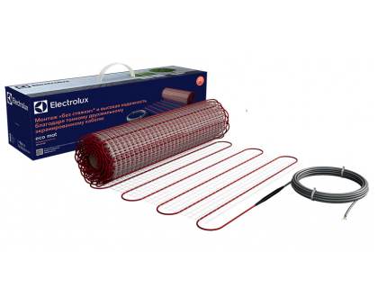 Теплый пол Electrolux Eco Mat 75 вт, 0.5 кв.м., под плитку EEM2-150-0,5