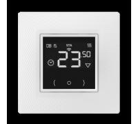 Терморегулятор Теплолюкс EcoSmart 25 Wi-Fi проводной, программируемый, белый 2239190