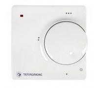 Терморегулятор Теплолюкс 510 проводной, не программируемый, белый 2176928