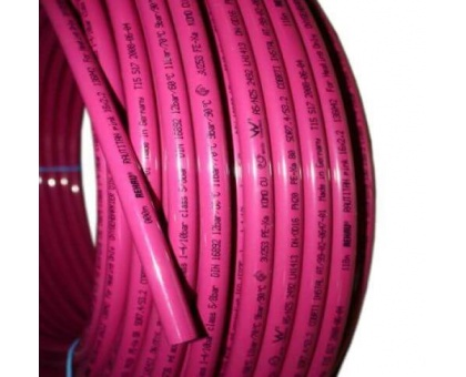 Труба из сшитого полиэтилена REHAU RAUTHERM Pink+ 16x2.2, PEX-a, 13360421120