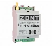 Коммутационный модуль ZONT H-1V eBus, GSM терморегулятор для котлов Vaillant и Protherm