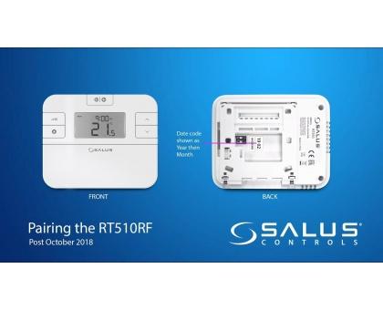 Salus Терморегулятор RT510RF программируемый, беспроводной