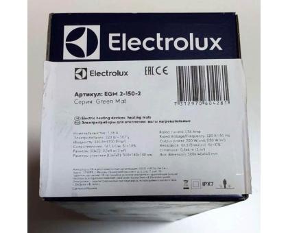 Теплый пол Electrolux EGM 300 вт, 2 кв.м., под плитку