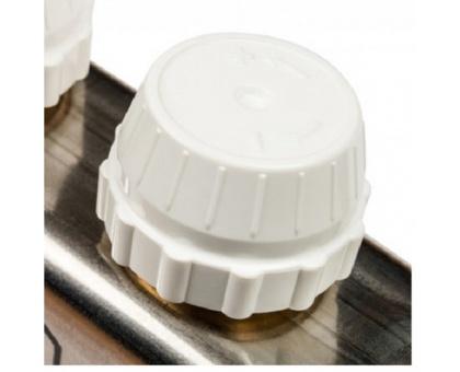 STOUT Коллектор из нержавеющей стали в сборе с расходомерами 6 вых.