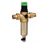 Braukmann (Honeywell) 1/2 FK06AAM1/2 фильтр промывной для ХОЛОДНОЙ и ГОРЯЧЕЙ воды с регулятором давления