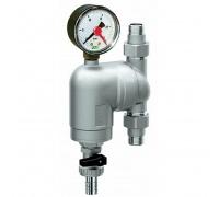 Фильтр промывной FAR 3/4 Нар, с манометром, 100мкм, с поворотным соединением, FA39A434100