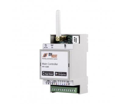 Контроллер MY HEAT GSM для управления двумя приборами отопления